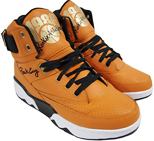 Ewing Athletics Ewing 33 HI 1986 30th Anniversary Rookie Of The Year Shoes basketball black gold