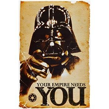 1art1 52077 Star Wars - Empire Needs You Poster 91 x 61 cm