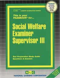 amazon in buy social welfare examiner supervisor iii book online at rh amazon in Polygraph Examiner Test CA Polygraph Examiner Test CA