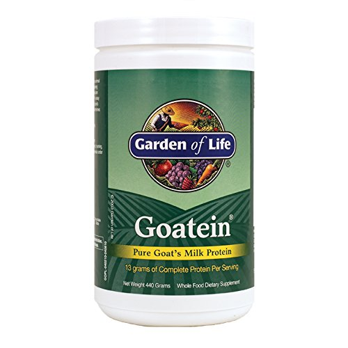 Garden of Life Goatein Pure Goats Milk Protein (440g, 13g per Serving) Test