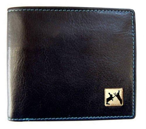 cuir-noir-sparring-hares-bill-fold-portefeuille-par-tyler-and-tyler