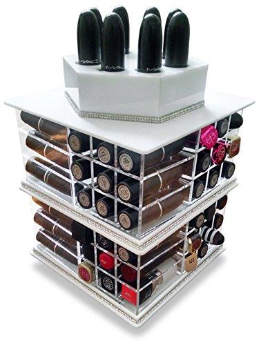 oi-labels-organiser-per-rossetti-rotante-puo-contenere-fino-a-81-rossetti-colore-bianco