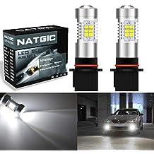 Bombillas LED para coche 2 unidades de NGCAT, P13W DRL, 21 chips SMD,