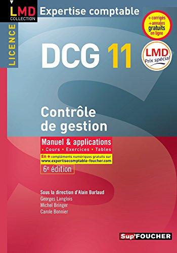 Ope Lmd Dcg 11 Controle de Gestion 6e Édition