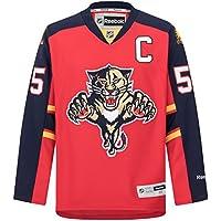 Reebok NHL Eishockey Trikot Jersey Premier Florida Panthers Ed Jovanovski #55 rot
