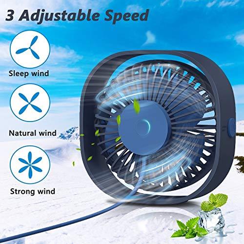 Zoom IMG-1 tedgem ventilatore usb mini silenzioso