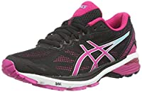 Asics GT-1000 5, Women�??s Running Shoes, Black (Black/Sport Pink/Aruba Blue), 5.5 UK
