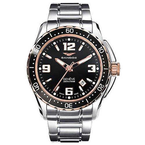Reloj Sandoz The Race 81327-95 Hombre Negro