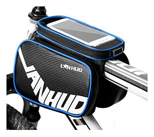 Bike Bag Bunte Fahrrad Lenker Pakete für 6 Zoll Telefon Multi-Funktions-Fahrrad-Zubehör#19
