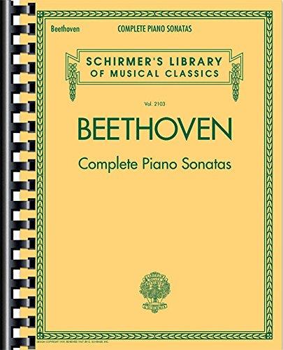 Descargar Libro Schirmer's Library of Musical Classics Vol. 2103: Ludwig Van Beethoven - Complete Piano Sonatas de Ludwig Van Beethoven