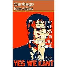 El día que Albert Rivera citó a Immanuel Kant: La Filosofía de Ciudadanos