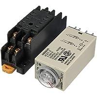 MASUNN H3Y-2 220V Energía En Tiempo De Retardo Relé De Estado Sólido Temporizador Dpdt Socket
