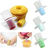 Cupcake Muffin Corer Cake Decoration Kitchen Tools & Gadgets (Random Color Pack of 2)