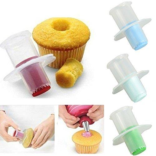 Cupcake Muffin évideur Décoration Gâteau Ustensiles De Cuisine & Gadgets (Coloris Aléatoire Paquet de 2)