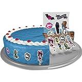 Monster High Zuckersticker 11 Stück, Deko für Torte, Kuchen und Co., essbar