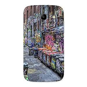 Cute Color Art Streets Multicolor Back Case Cover for Galaxy Core