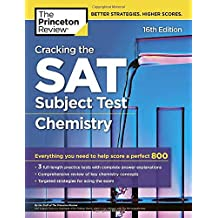 Cracking the Sat Chemistry Subject Test (College Test Prep)