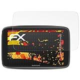 atFoliX Folie für Tomtom GO Camper Displayschutzfolie - 3 x FX-Antireflex-HD hochauflösende entspiegelnde Schutzfolie