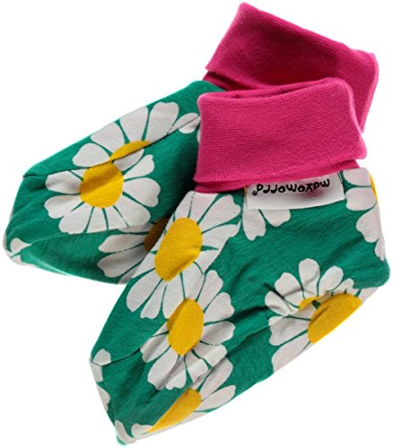 Maxomorra Footies Daisy Chaussettes, Green, 0-6 mois (taille du fabricant:50/68) Mixte bébé