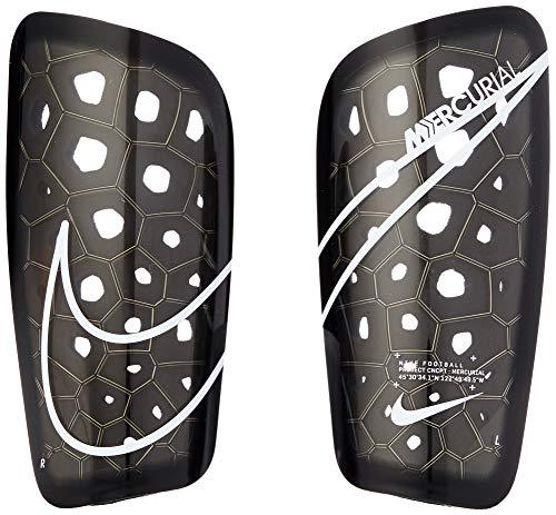 Nike Unisex- Erwachsene Mercurial Lite Schienbeinschoner, Black/White, L