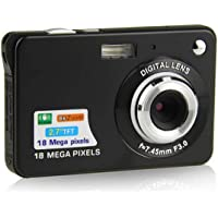 Youmeet Compact Digital Camera,2.7' Rechargeable Camera,18MP Camera,Small…