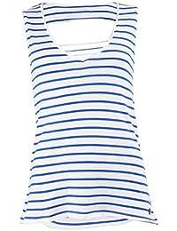T-shirt Little Marcel Doriane Blanc et Bleu