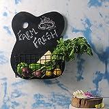 FABULIV CBN105 Chalk Board Kitchen Shelf
