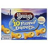 Young's Flipper Dippers x10, 250g (Frozen)