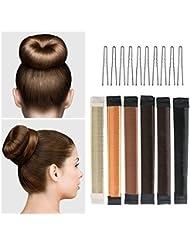 Gutsbox Damen Hair Styling Tool Donut Haar Bun Maker Perfekt