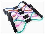 XJoel Ultra Toner Resistance Band Exercise Cords Resistance Training Bands Tube Workout Exercise for 8-shape Expander 2 Pcs (Random Color)