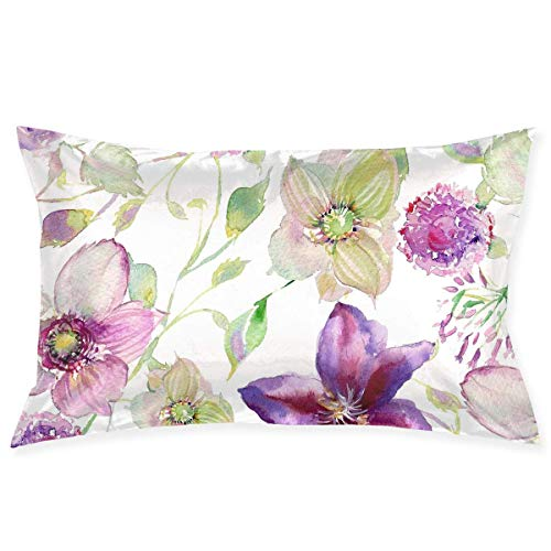 inting Artwork Pillowcase - Zippered Pillowcase, Pillow Protector, Best Pillow Cover - Standard Size 20x30 Inches, Double-Sided Print ()