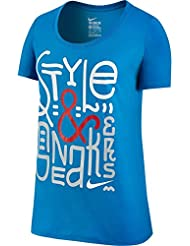 Nike Tee-Bf Style Sneakers T-Shirt für Damen