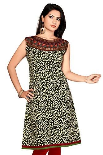Jaipuri anarkali Cotton Long printed long Pakistani fancy Kurtis (Size