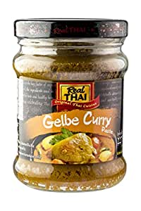 Real Thai Yellow Curry Paste, 227g