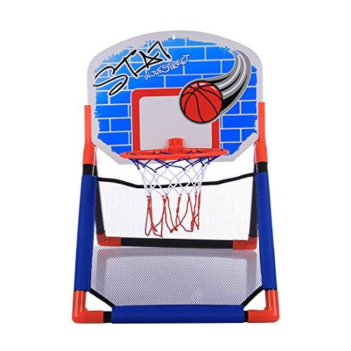 Jo332Bertram Kinder Basketballständer, Basketballkorb Spielzeug Set für 3-10 Jahre Alt