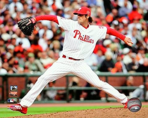 Cole Hamels 2007 MLB All-Star Game Action Photo Print (40.64 x 50.80 cm)