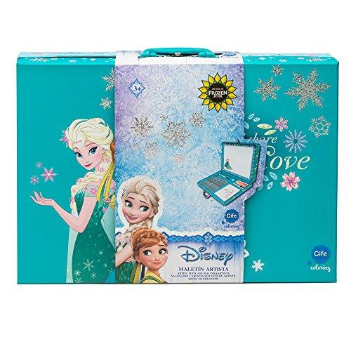 Frozen - Maletin del artista para jugar y pintar (CIFE)