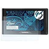 Bruni Schutzfolie für Garmin Drive 61LMT-S Folie - 2 x glasklare Displayschutzfolie