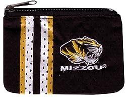NCAA Missouri Tigers Ladies Athletic Mesh Coin Purse