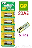 Gadget Hero's 23AE GP Battery 5 pieces p...