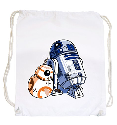 Brothers Robots Gymsack White Certified Freak