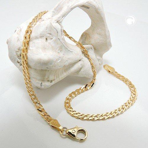 Bracelet chaîne Mariner 19cm, or 14K