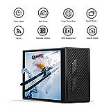 APEMAN 4K Action Cam Wi-Fi 16MP Ultra FHD Impermeabile 30M Immersione Sottacqua Camera con Schermo 2 Pollici 170 Gradi Ampia Vista Grandangolare/ Telecomando 2.4G/ 20 Accessori allInterno