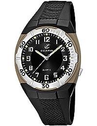 Calypso Uhr K5214/22–Armbanduhr Herren, Armband aus Kunststoff Farbe schwarz