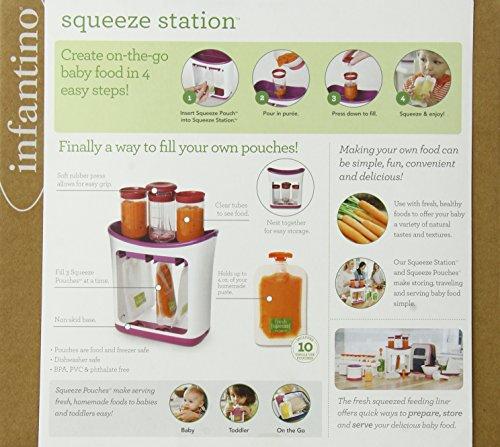 Infantino Squeeze Station Pressoir À Purées