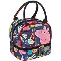 Cerdá 2100000119 - Bolsa de mini merienda, diseño Peppa Pig, color azul