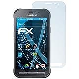 atFolix Displayschutzfolie für Samsung Galaxy Xcover 3 Schutzfolie - 3 x FX-Clear kristallklare Folie