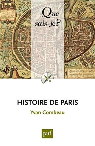 Histoire de Paris: « Que sais-je ? » n° 34