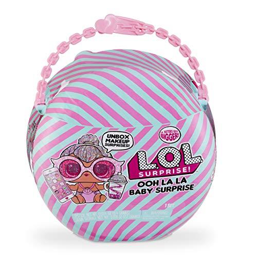 L.O.L. Surprise! 562474 L.O.L Ooh La Baby Lil Kitty Queen with Purse & Makeup Surprises, Multi