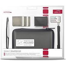 Speedlink Starter Kit 10-In-1 für Nintendo N3DS XL (Tasche, Touch Pen, Schutzfolie, Spielhüllen, Mikrofasertuch)